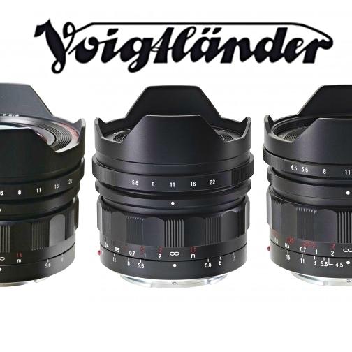 Tři ultraširokoúhlé objektivy Voigtlander pro bezzrcadlovky Sony