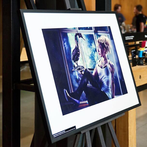 Výstava fotografií zaměstnanců Megapixelu