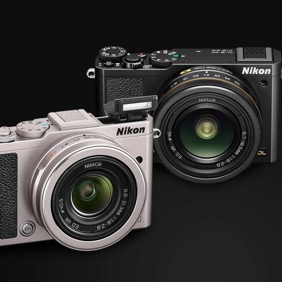 Očekávané výkonné kompakty řady DL poslal Nikon k ledu