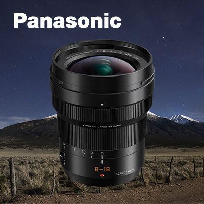 Panasonic Leica DG Vario-Elmarit 8-18mm f/2.8-4 ASPH je již skladem