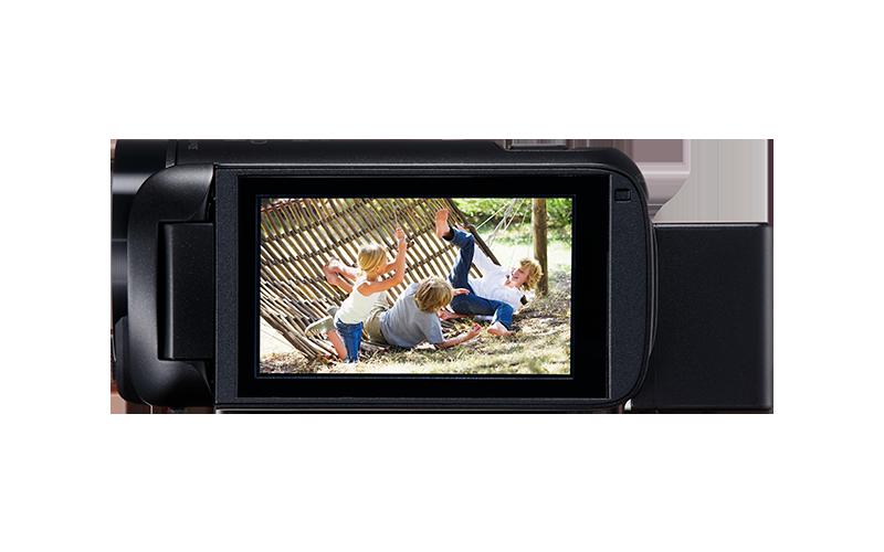 LEGRIA_HF_R806-BK-Left-SIDE-LCD_800x500
