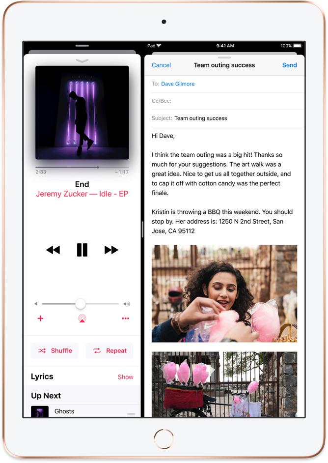 Apple iPad 9,7 2018 výdrž na nabití