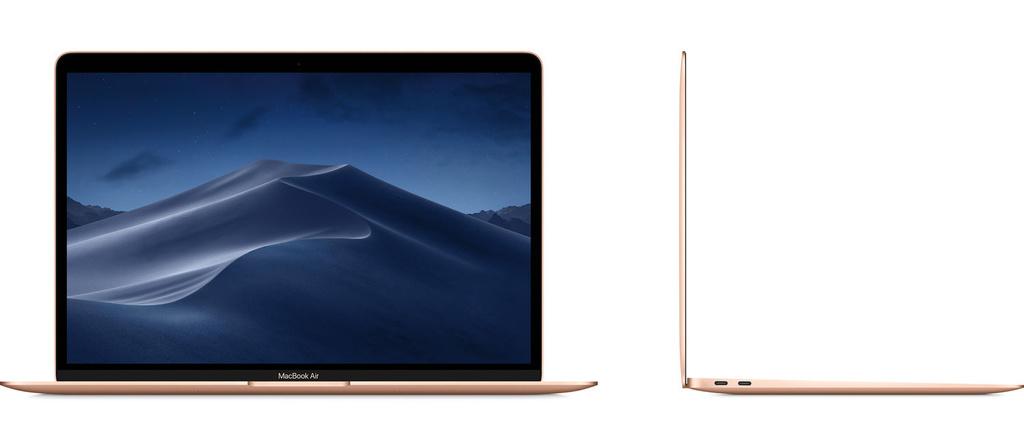 "Apple MacBook Air 13,3"" (2019) 256GB zlatý"