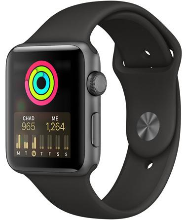Apple Watch Series 3 GPS 42mm Aktivity