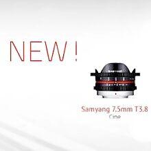 Nové objektivy od Samyangu