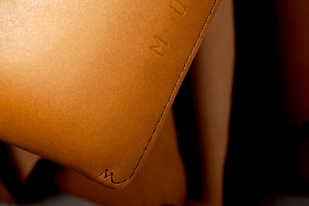 Slim Fit iPad mini Sleeve - Tan - Lifestyle - 505
