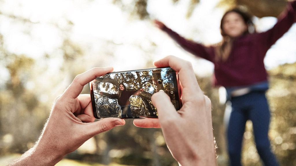 Samsung Galaxy S9 a S9+ fotoaparát a displej