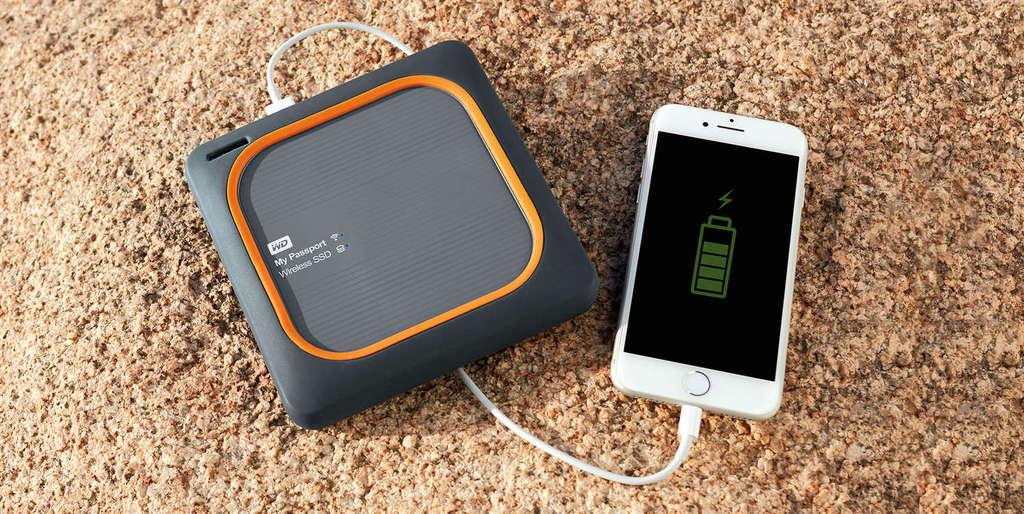 WD My Passport Wireless SSD powerbanka