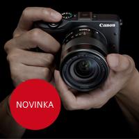 Canon představil systémový kompakt EOS M3 a další novinky