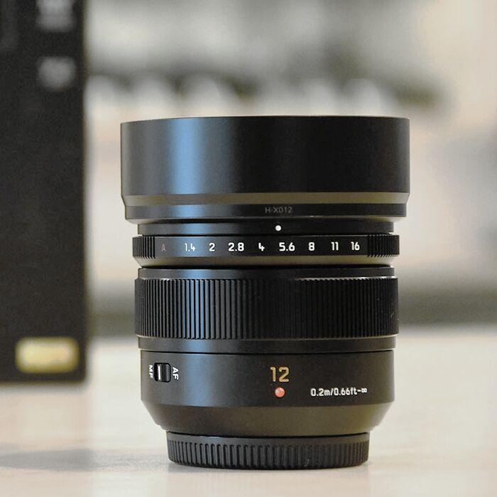 Panasonic Leica Summilux DG 12mm f/1,4 ASPH. je už skladem