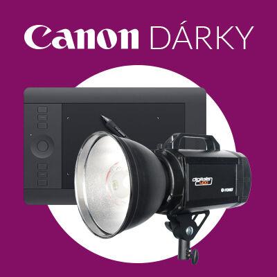 Získejte hodnotné dárky k zrcadlovkám Canon - jen do pátku!