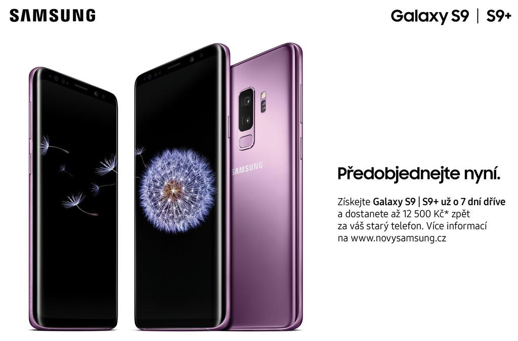 Samsung Galaxy S9 S9+ předprodej