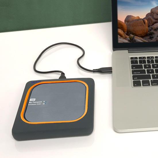 WD My Passport Wireless SSD rychlost