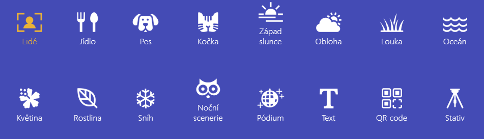Asus Zenfone 5 AI režimy