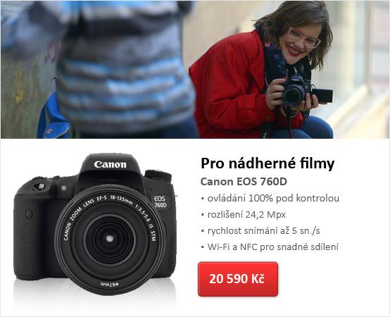Digitální zrcadlovka Canon EOS 760D tělo