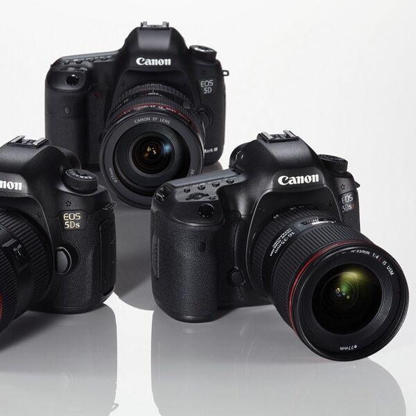 Pořiďte si Canon EOS 5DS R se slevou 10 000 Kč a navíc získáte dárky v hodnotě 12 290 Kč!