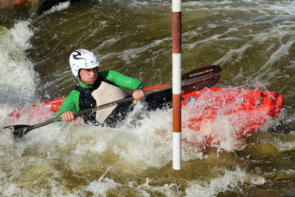 Workshop focení vodního slalomu s Canonem