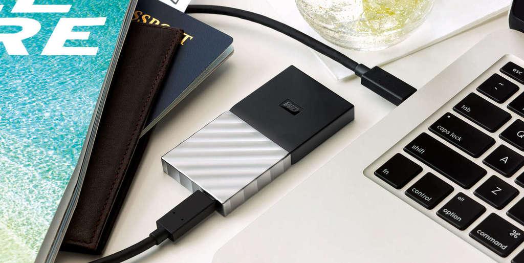 WD My Passport SSD kompaktnost
