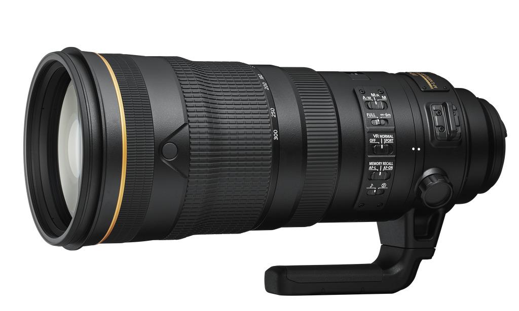AF-S NIKKOR 120–300 mm f/2,8 E FL ED SR VR