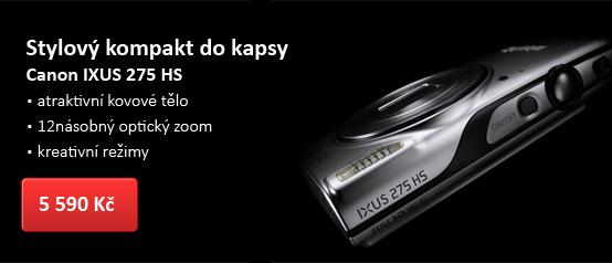 Digitální kompakt Canon IXUS 275 HS černý