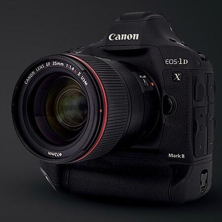Superrychlý Canon EOS-1D X Mark II zvládne až 16 sn/s a 4K video v 60 sn/s