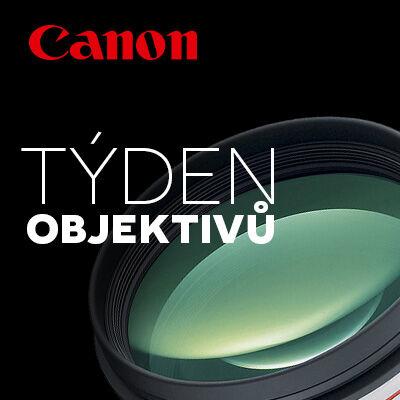 Od pondělí začíná Týden objektivů Canon!