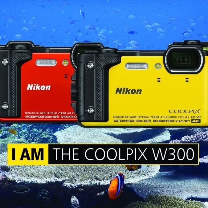 Outdoorový Nikon Coolpix W300 je již skladem