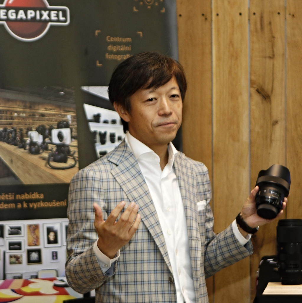 SIGMA CEO Kazuto Yamaki navštívil MEGAPIXEL