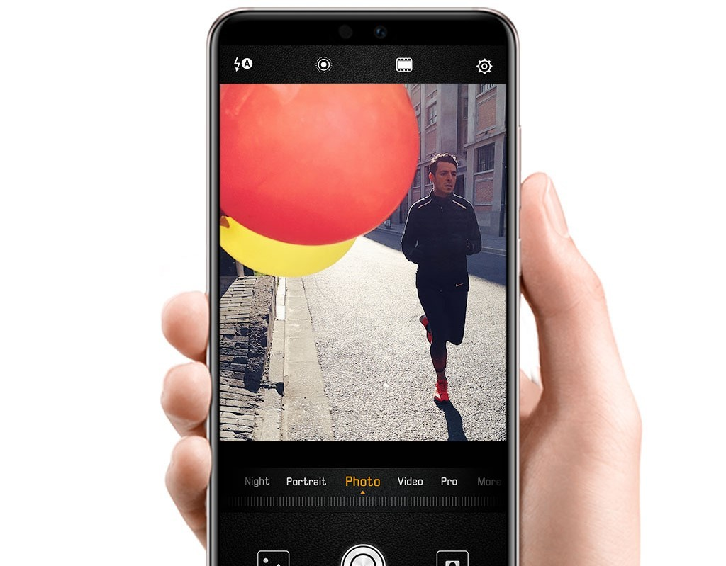 Huawei P20 rychlost pořízení snímku