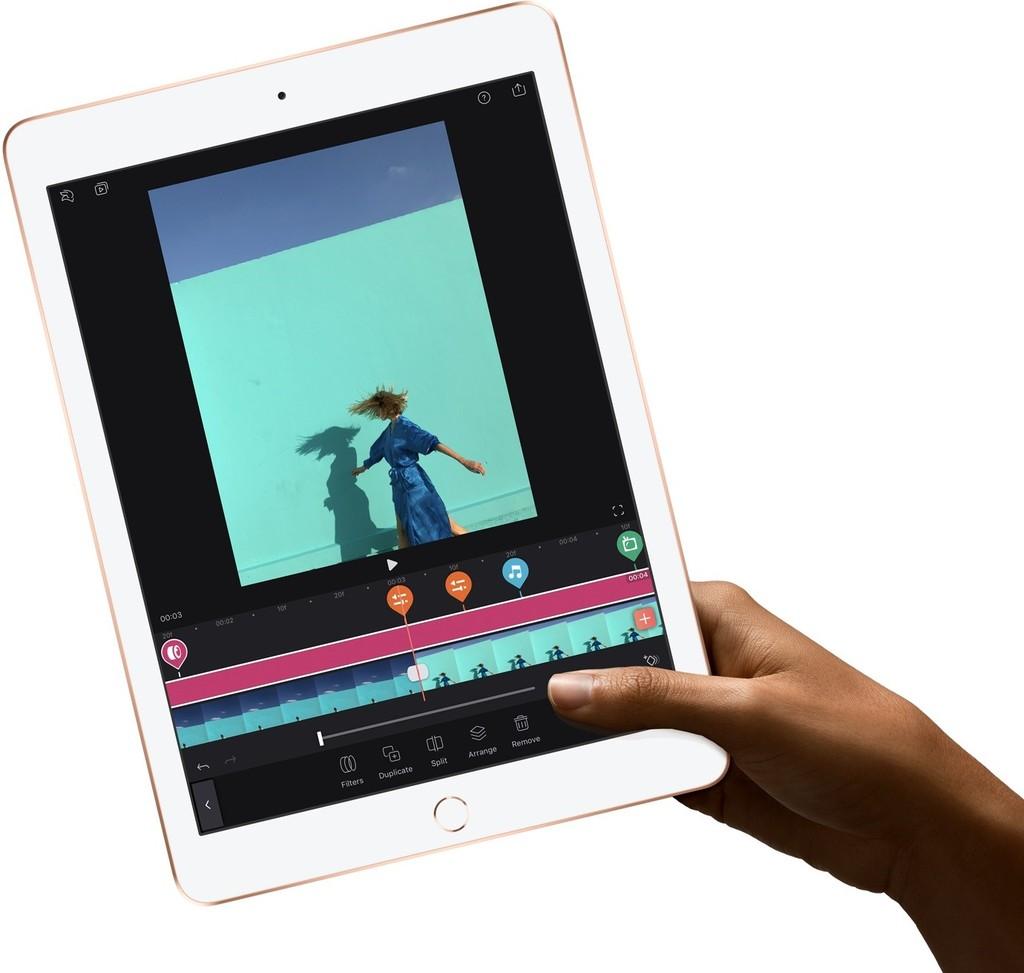 Apple iPad 9,7 2018 práce a výkon