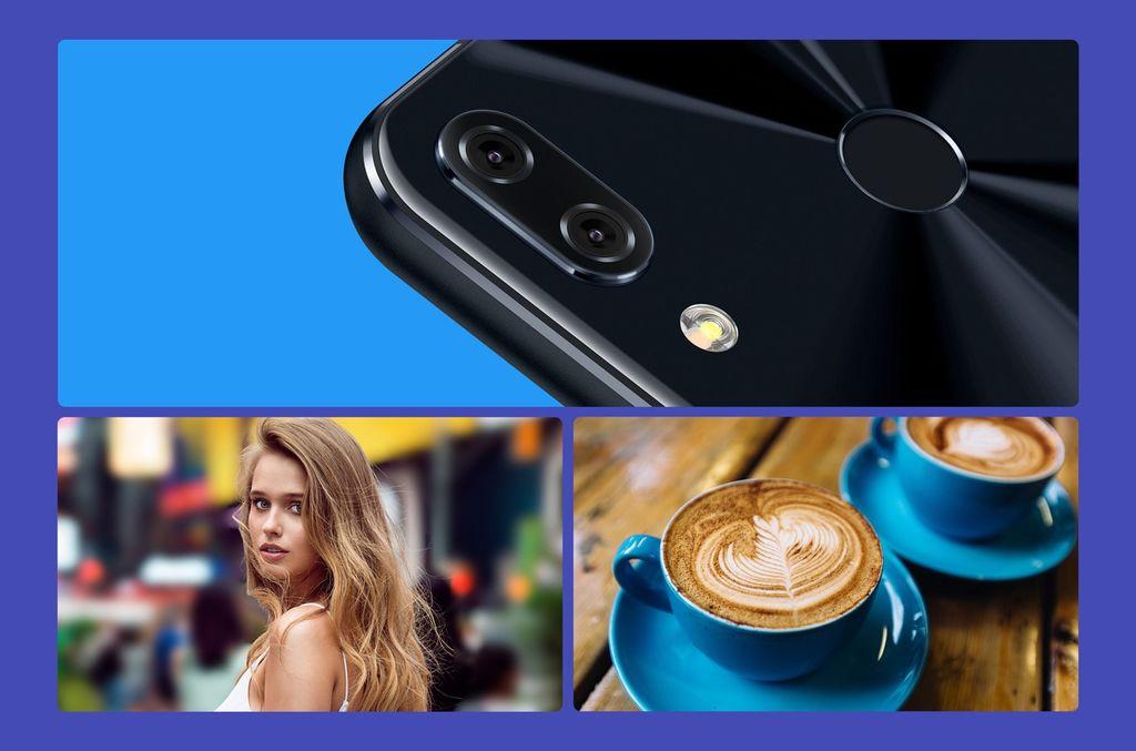Asus Zenfone 5 portrétní režim