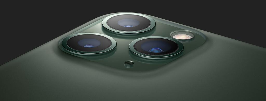 iPhone 11 Pro foťáky
