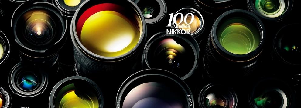 Nikon vyrobil 100 milionů kusů objektivů NIKKOR a ohlašuje nový odolný fotoaparát COOLPIX W100
