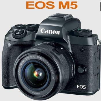 Canon EOS M5 - špičková bezzrcadlovka skladem