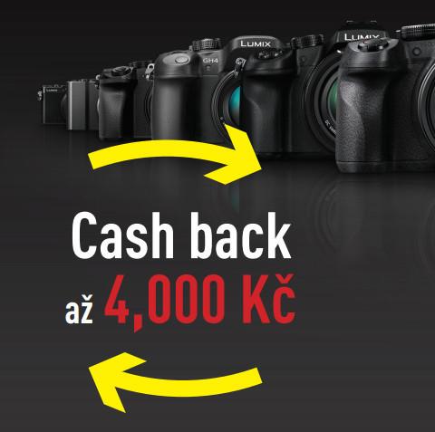Ušetřete až 4 000 Kč s cashback Panasonic