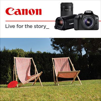 Prodlužujeme letní Cashback Canon do 31. 8.