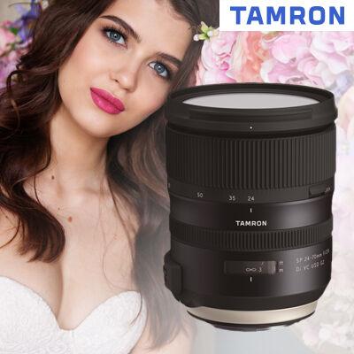 Novinka Tamron 24-70mm f/2,8 G2 je skladem