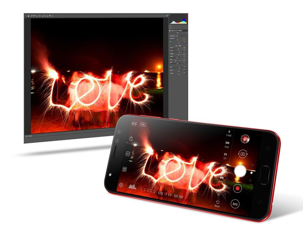 Asus Zenfone 4 Selfie Pro RAW
