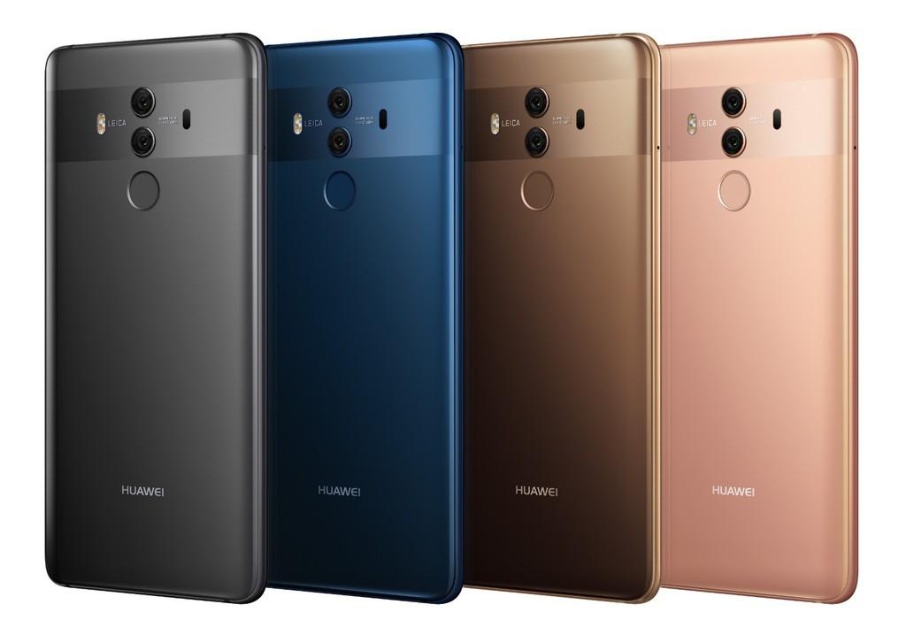 Huawei Mate 10 Pro design