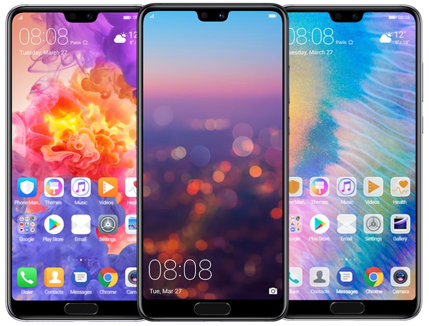 Huawei P20 Pro displej