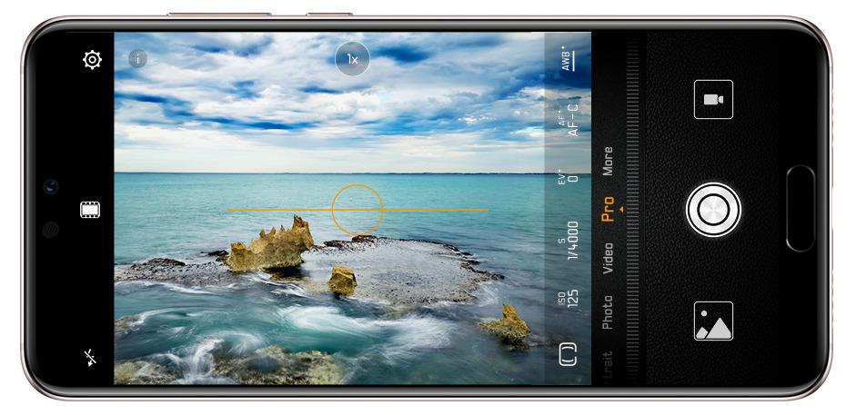 Huawei P20 Pro kompozice
