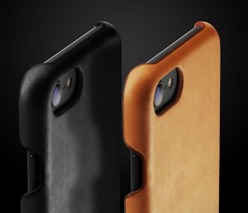 Leather Case for iPhone 7 - Tan - Line-up - 001