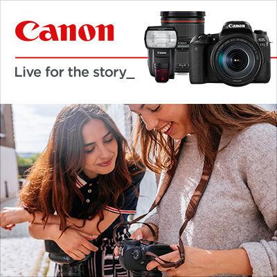 Startuje podzimní Cashback Canon