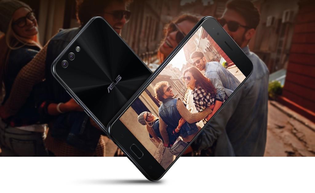 Asus Zenfone 4 design