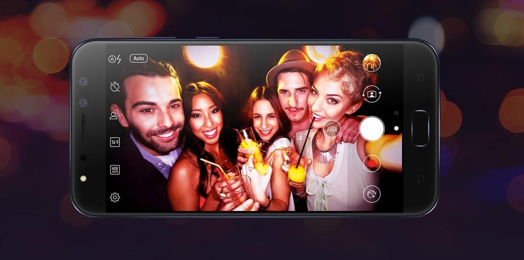 Asus Zenfone 4 Selfie Pro selfie fotoaparát