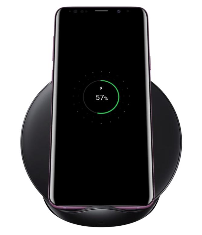 Samsung Galaxy S9 bezdrátové nabíjení