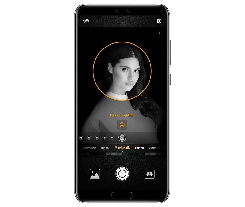 Huawei P20 3D osvětlení