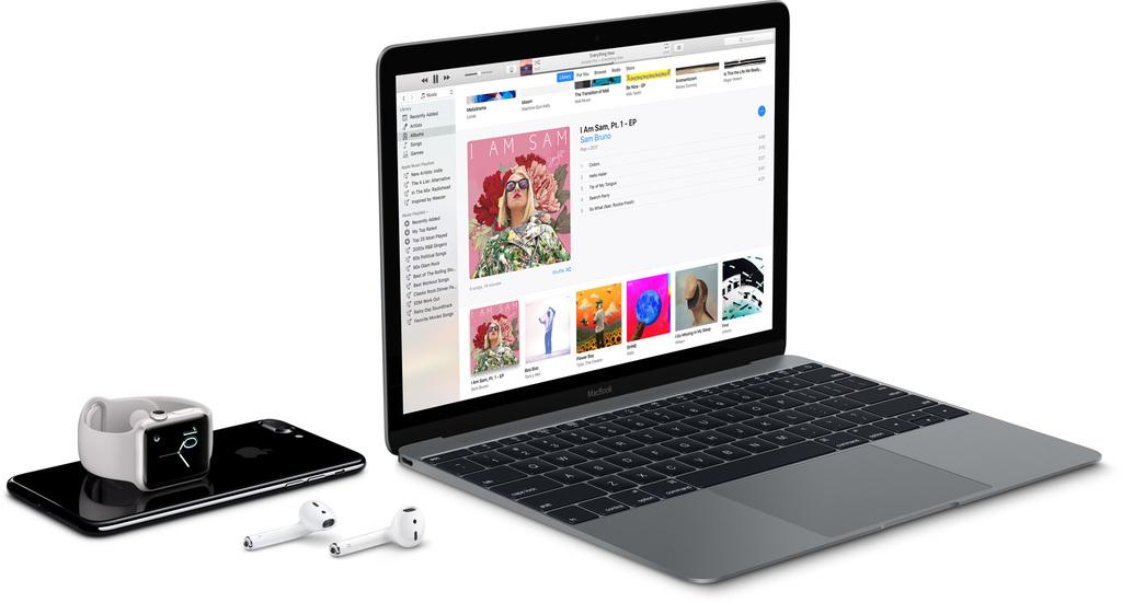 Apple AirPods připojení