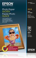 Epson Photo Paper Glossy A3+, 20 listů