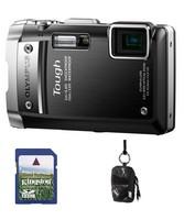Olympus TG-810 černý + 8GB karta + Aha pouzdro 70J!